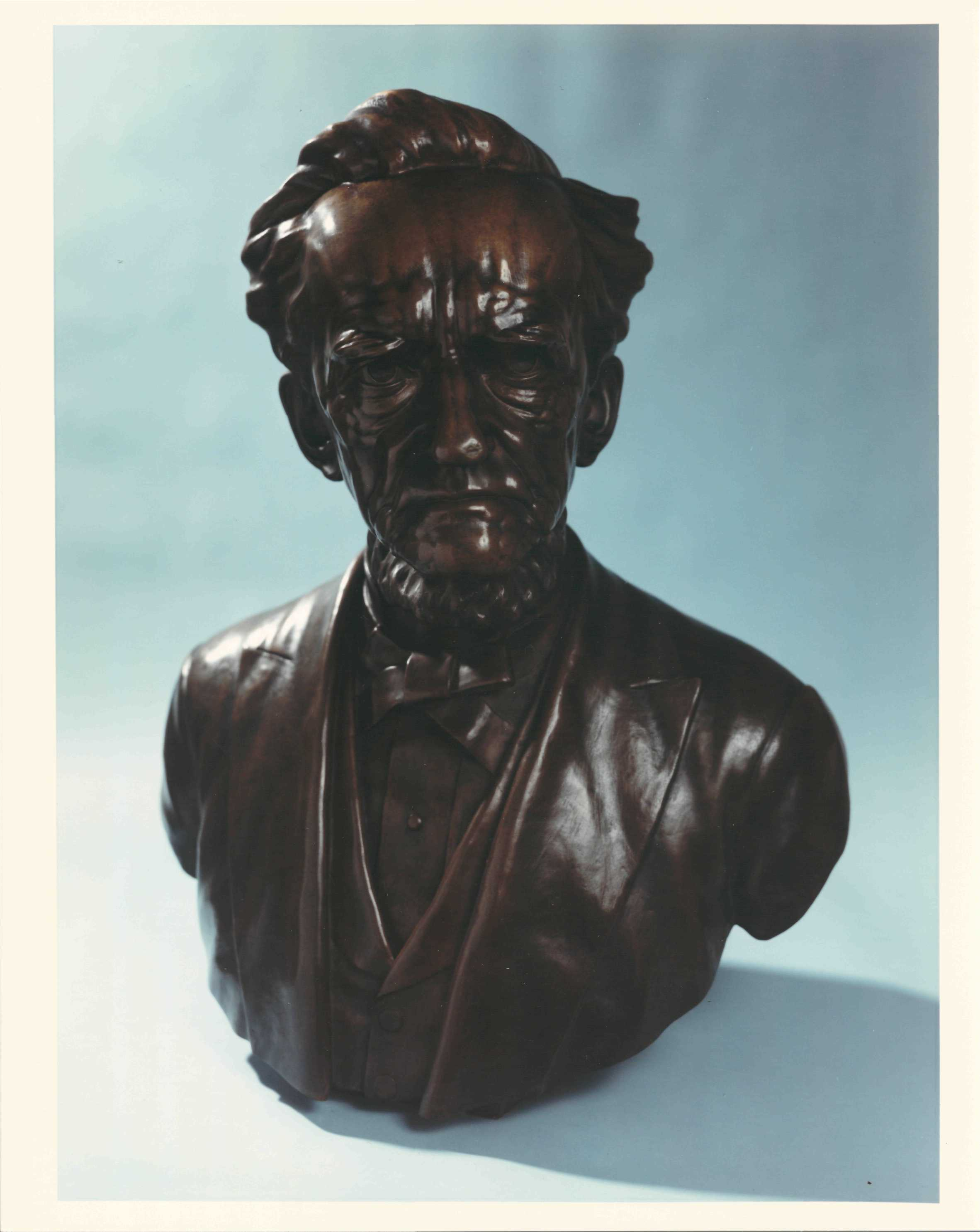 Nathan Smith Davis Bust