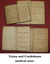 Union and Confederate medical texts